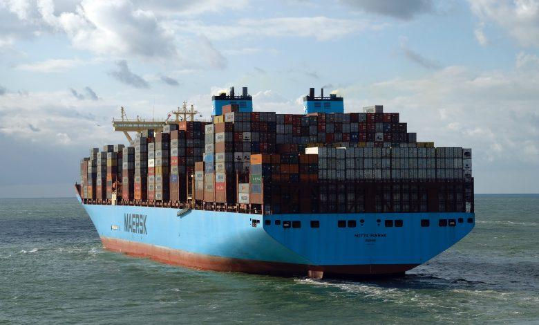 Ceny frachtu Maersk