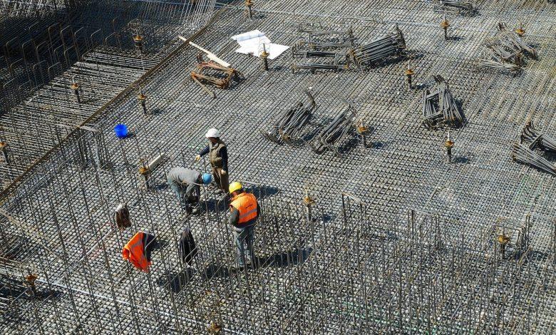 ilość powierzchni magazynowej w budowie