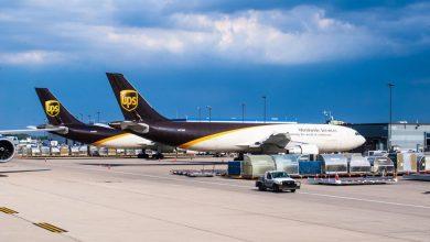 Największe lotniska cargo, UPS