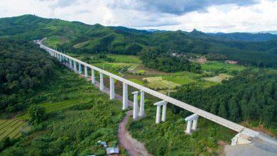 Chiny połączą się z Laosem za pomocąkolei dużych prędkości.